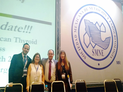LATS AT THE LVII INTERNATIONAL CONGRESS OF THE MEXICAN SOCIETY OF NUTRITION AND ENDOCRINOLOGY
