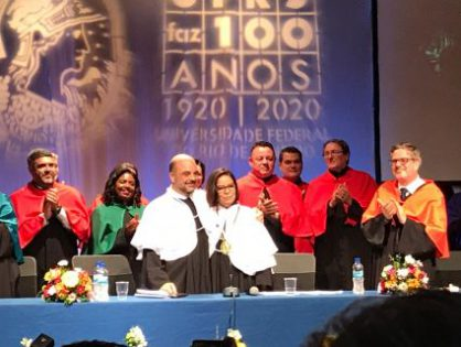 Ceremony of Transmission of the Position of Rector at UFRJ